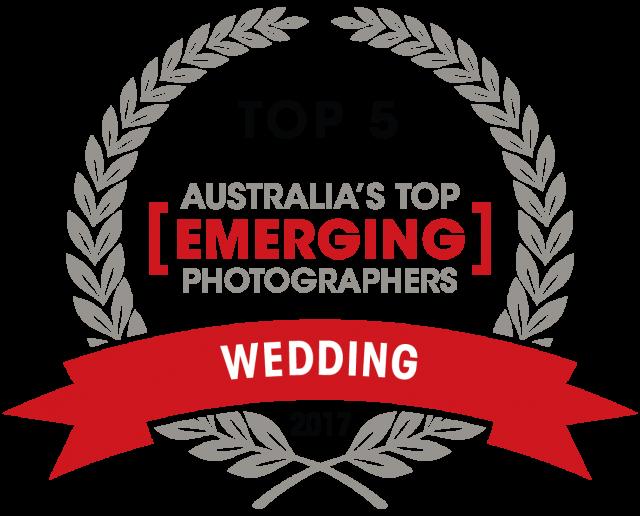 Capture Magazine Top emerging wedding photographer award of 2017