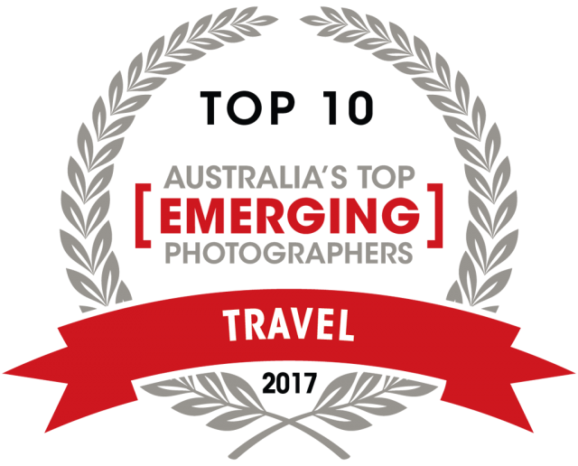 Capture Magazine Top emerging travel photographer award of 2017