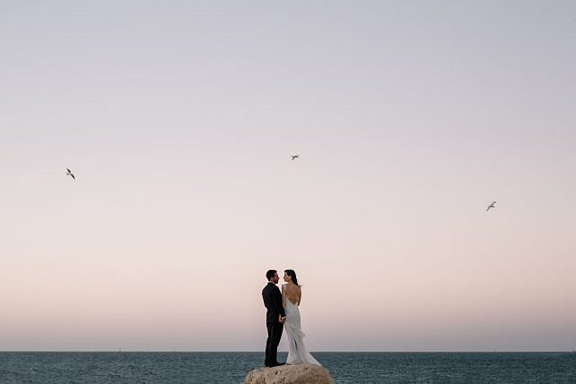 Wedding in Hillarys with a relaxed different and fun vibe Adam Levi Browne Photography