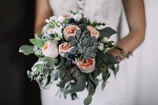 Wedding flowers from the amazing Chiara Anne Floral Couture