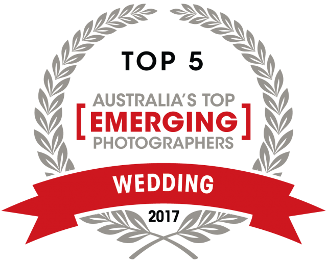 Capture Magazine Top emerging wedding photographer award of 2017