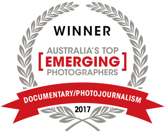 Capture Magazine Top emerging Documentary wedding photographer award of 2017