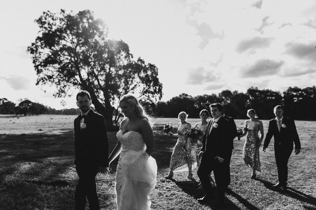 Bridal Party Candid Lilac Hill Guildford