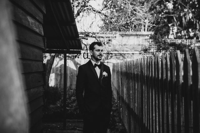 Groom Rough Moody Black White Guildford