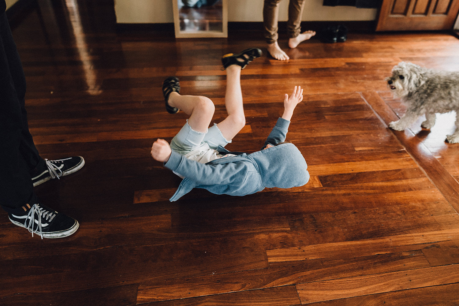 Page Boy Break Dancing