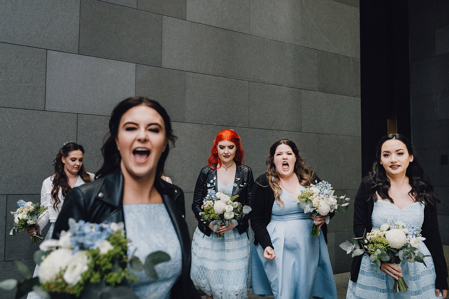 Bridesmaids Going Wild