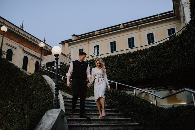 Engagement Shoot Lake Como