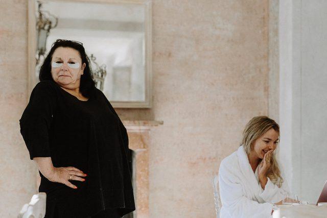 Vila Regina Teodolinda Bide Makeup