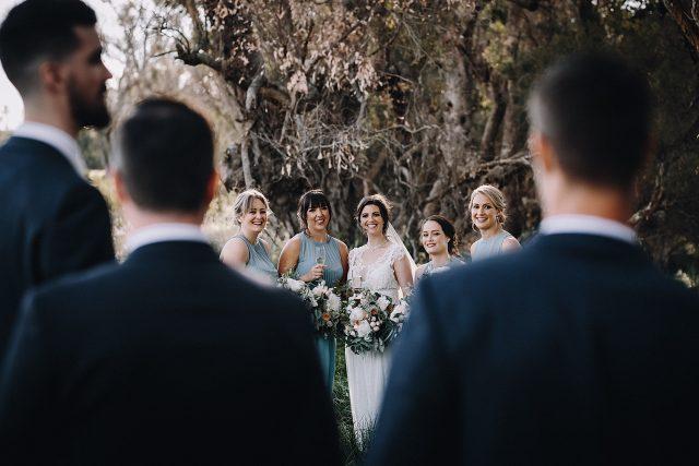 Bridesmaids And Groomsmen Busselton Wedding