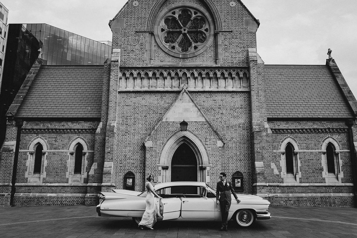 Wedding Couple Como Treasury Cadillac