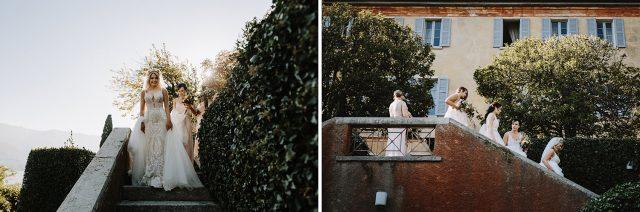 Bride Bridesmaids Regina Teodolinda