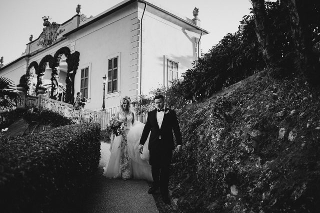 Vila Balbianello Bride Groom