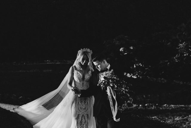 Vila Balbianello Bride Groom Moody Contrast Light