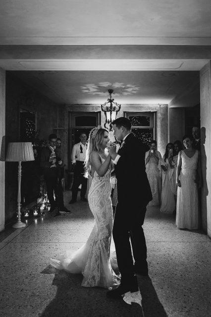 Bride Groom Vila Regina Teodolinda Dancing