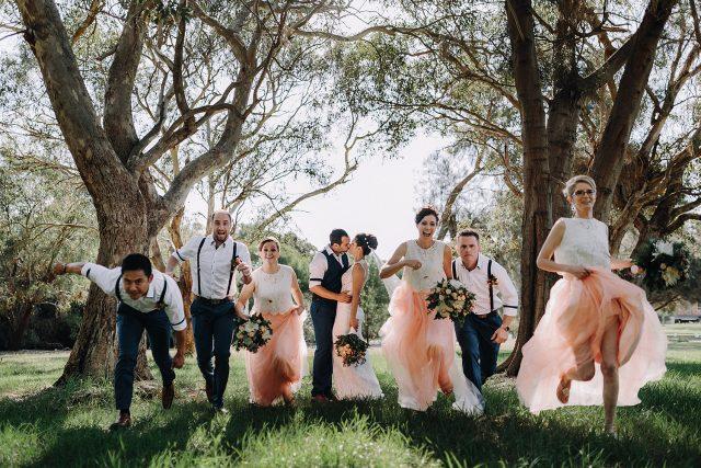 Matilda Bay Wedding Bridal Party