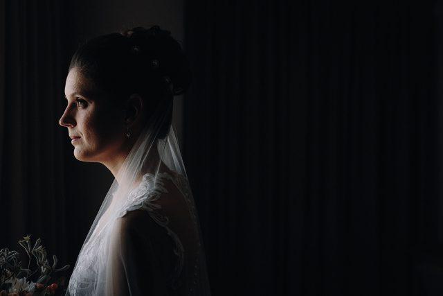 Bride Portrait Perth Wedding Novotel