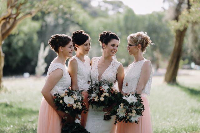 Bridesmaids Matilda Bay Perth