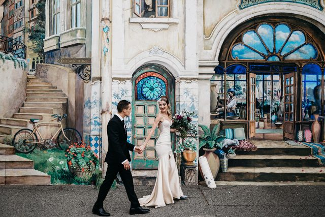 Fremantle East West Design Wedding