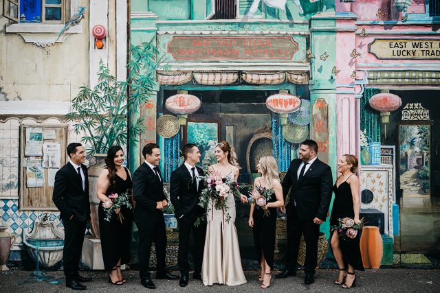Fremantle East West Bridal Partywedding