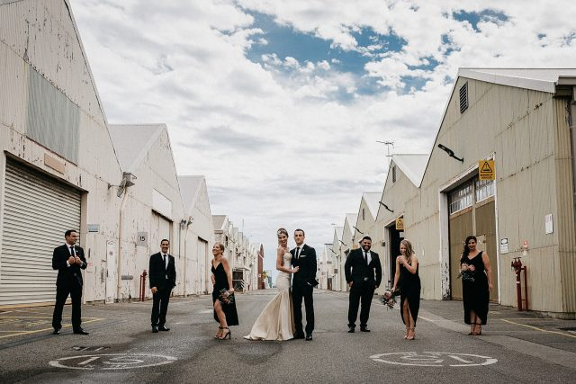 Bridal Party Customs Fremantle Wedding