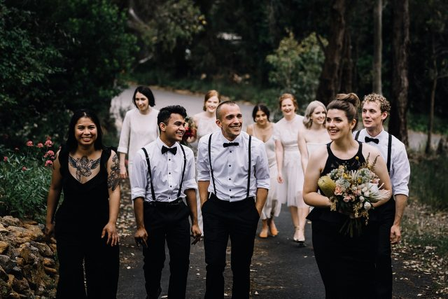 Gay Wedding Bridal Party