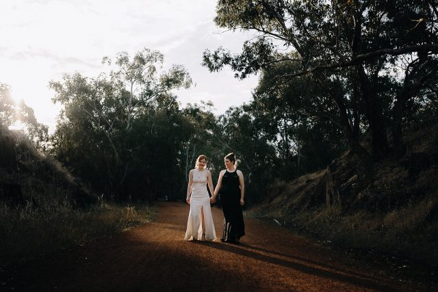 Same Sex Wedding Perth Brides Darlington