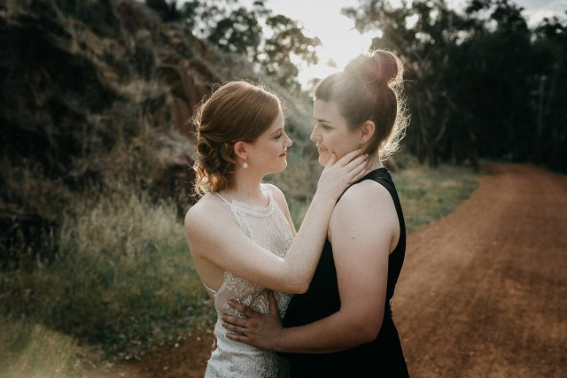 Same Sex Wedding Perth Golden Hour