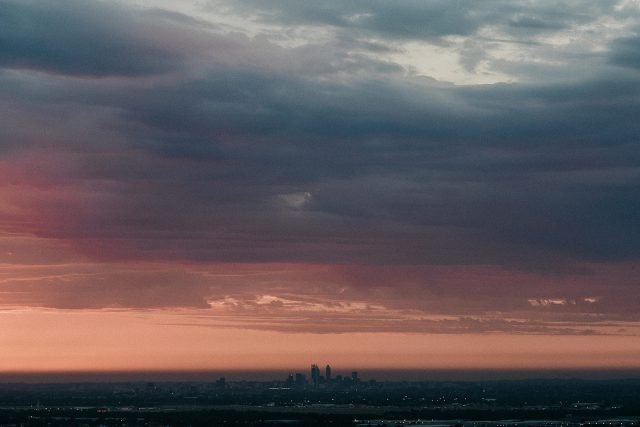 Perth City Sunset View Wedding