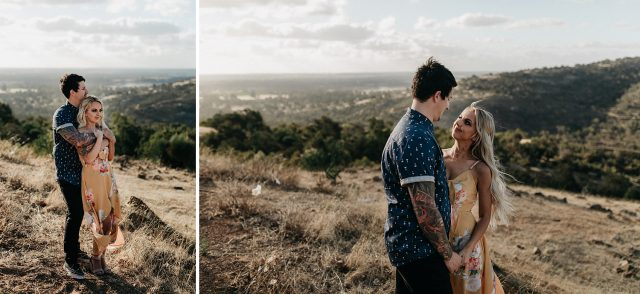 Engagement Photography Couple Perth Hills
