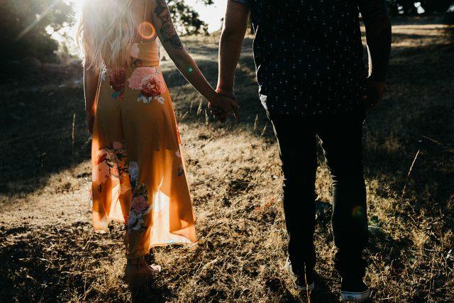 Fremantle Engagement Shoot Couple Wedding Natural