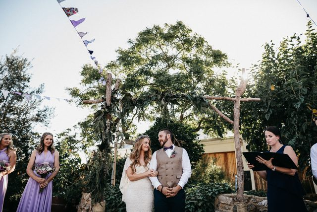 Perth City Farm Wedding Boho DIY