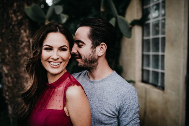 Cactus Wedding Couple Married Fremantle
