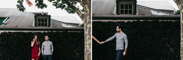 Trees Wedding Couple Engagement Fremantle