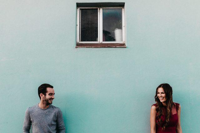 Colour Fremantle Engagement Couple Photography