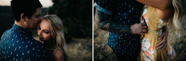 Tattoo Wedding Couple Perth Sunset