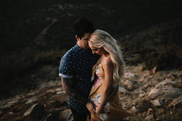 Tattoo Wedding Couple Perth Adventure Shoot