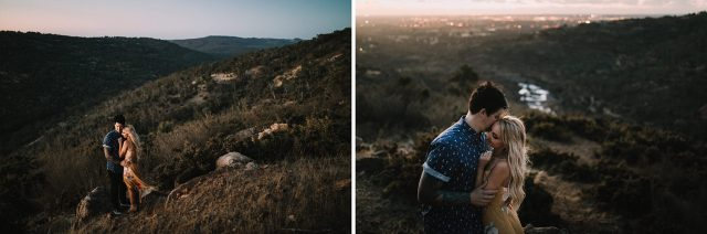 Sunset Perth Hills Wedding Hipster Engagement Photography