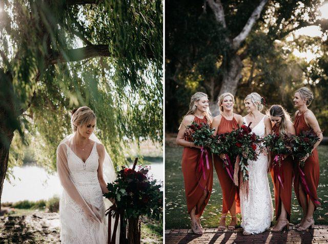 Yanchep National Park Wedding Bridal Party Dance