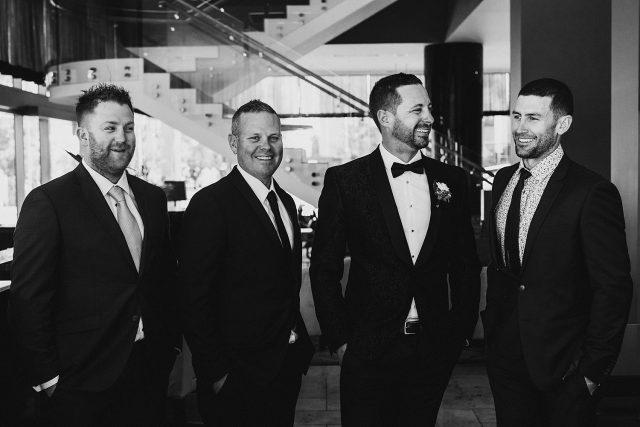 Groomsmen Frasers Suites Perth Cbd