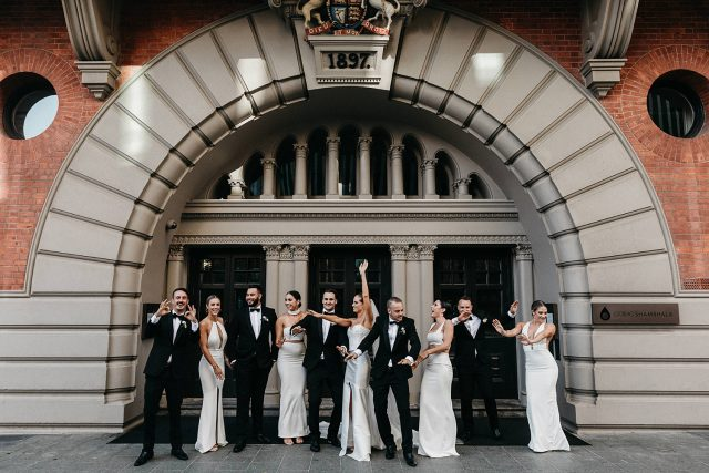 Bridal Party Como Treasury Wedding