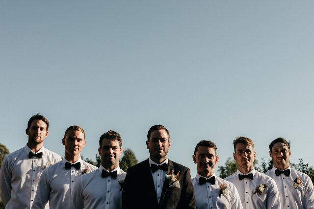 Groomsmen Core Cide House Wedding