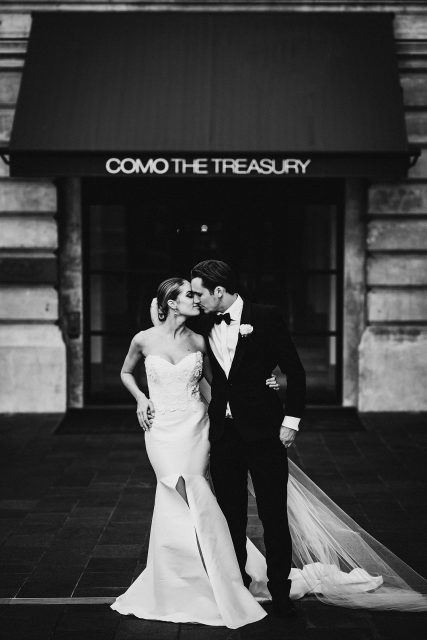 Como Treasury Wedding
