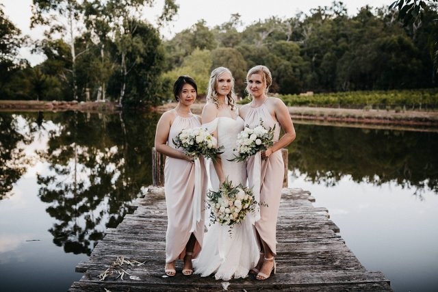 Bridesmaids Millbrook Winery Wedding