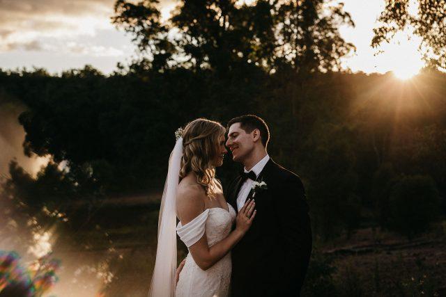 Bride & Groom Millbrook Winery Wedding Jarrahdale