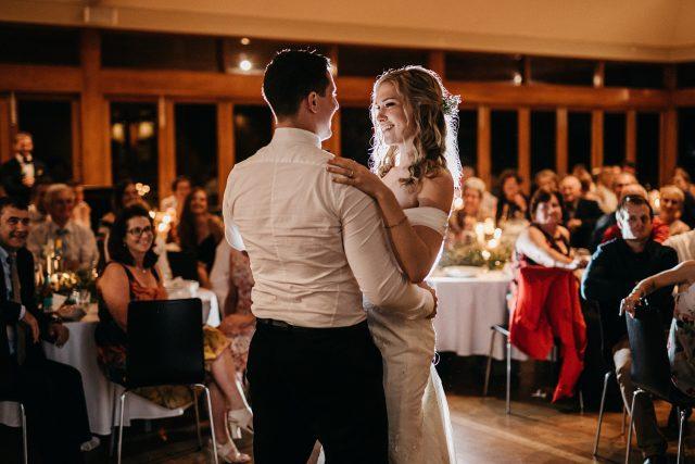 First Dance Milbrook Winery Wedding