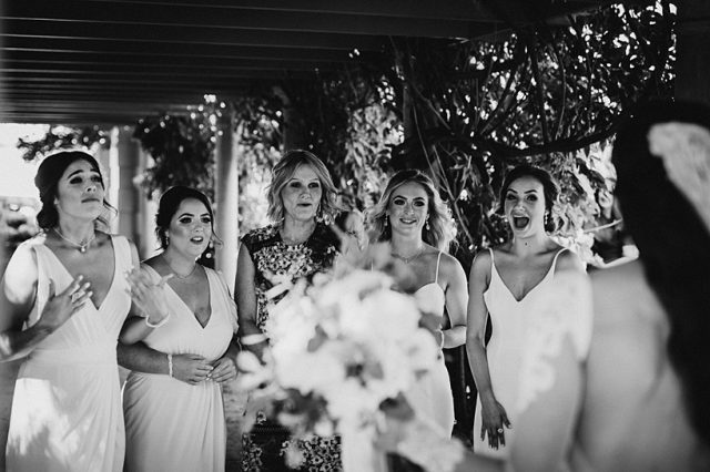 295 Bridesmaids Shock Awe Expression Surprise