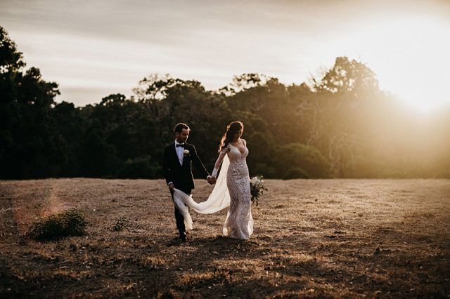 343 Sunset Last Light Golden Hour Wedding Photos Perth