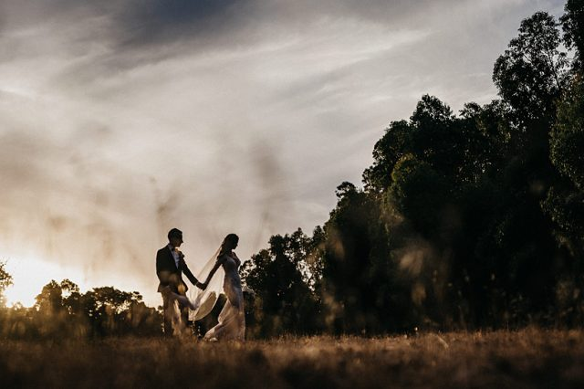 344 Sunset Last Light Golden Hour Wedding Photos Perth