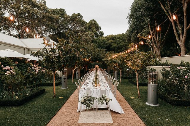 351 Margaret River Secret Garden Reception Details