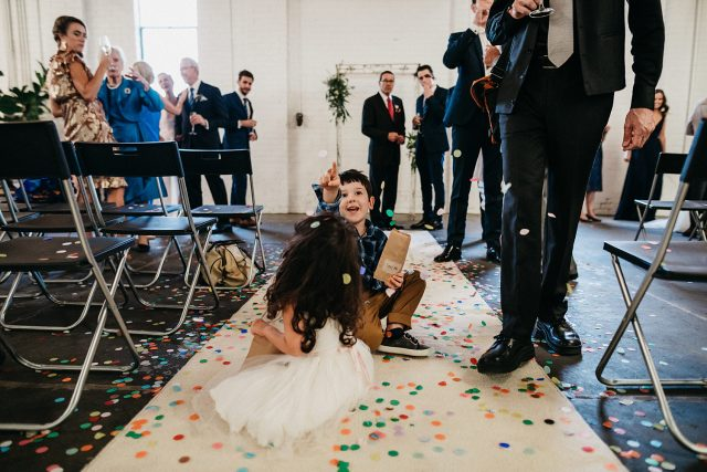 Confetti Stackwood Wedding Fremantle